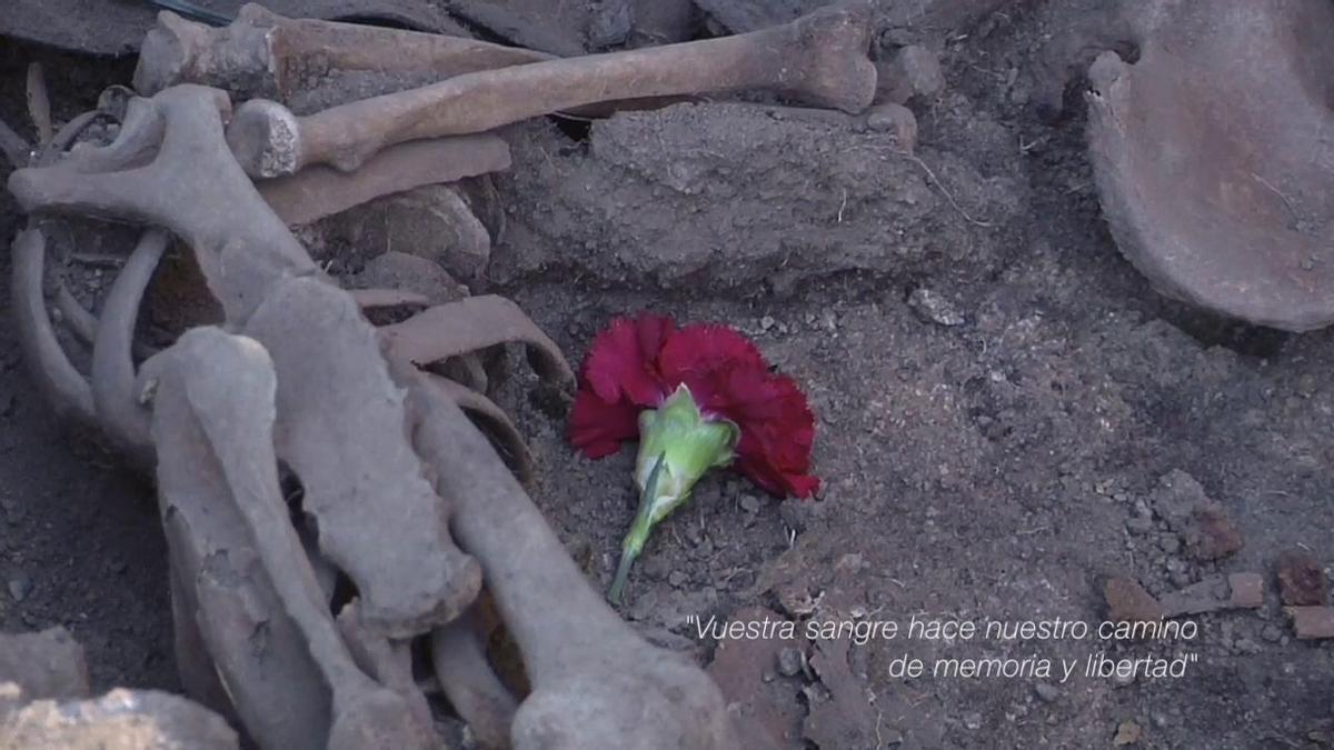 Fotograma del documental 'La Fosa Nº1'