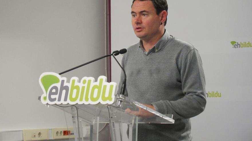"""Arraiz cree que la ciudadanía ha percibido a EH Bildu """"arrogante y con soberbia"""" y asegura que han recibido el mensaje"""