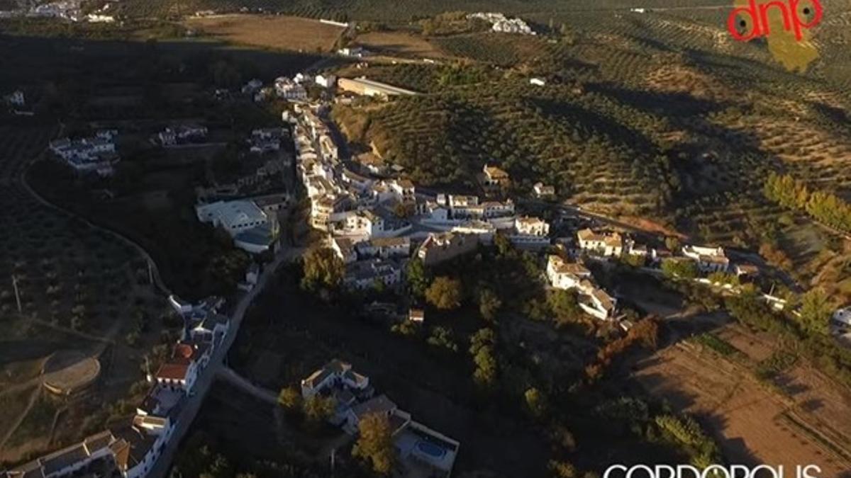 Panorámica de Priego de Córdoba