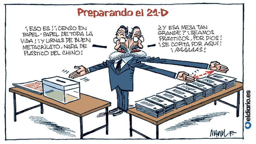 Preparando el 21D