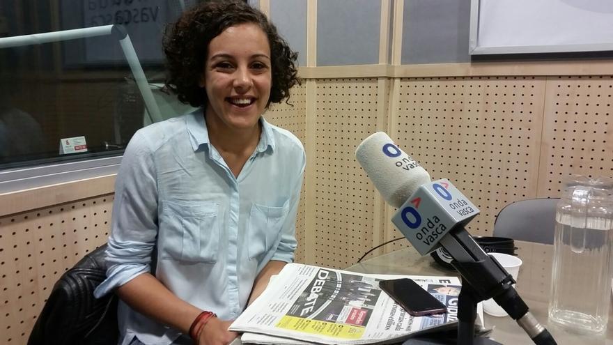 """Alba cree que es """"el miedo"""" a Podemos lo que hace al lehendakari adelantar las elecciones autonómicas"""