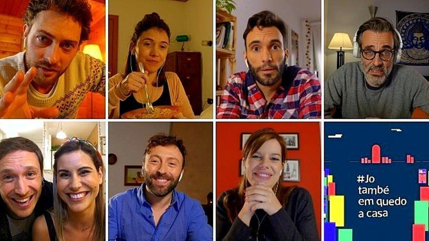 El coronavirus tampoco puede con las series: así es 'Jo també em quedo a casa' de TV3