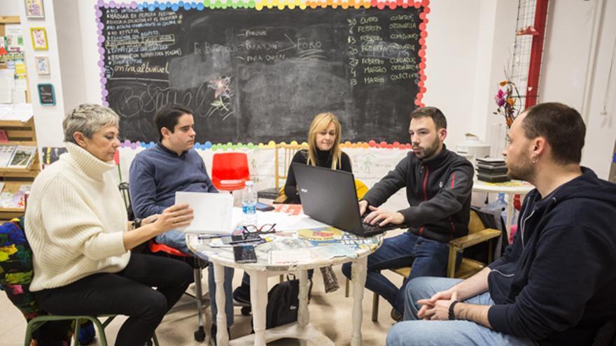 El Sindicato de Inquilinas de Zaragoza se reúne en el Centro Social Comunitario Luis Buñuel