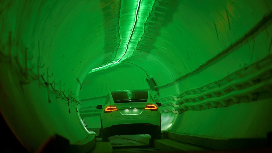 Tunel de la Boring Company, en Hawthorne