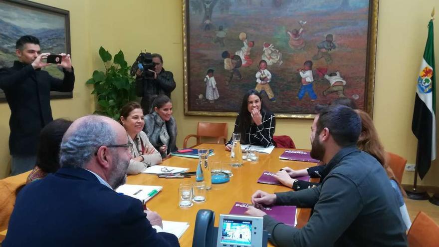 Extremadura Presupuestos Junta Podemos