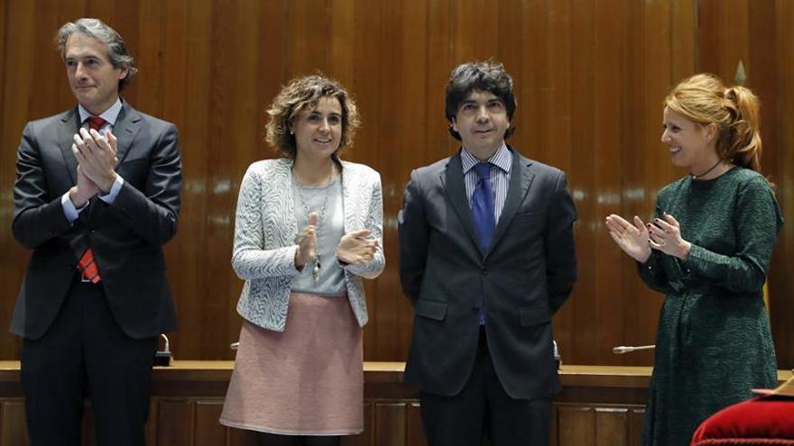 Montserrat destaca el compromiso con España y la sensibilidad social de Mario Garcés
