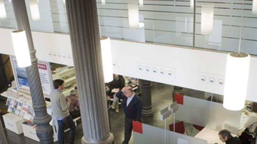 Oficina del Colegio de aparejadores de Madrid