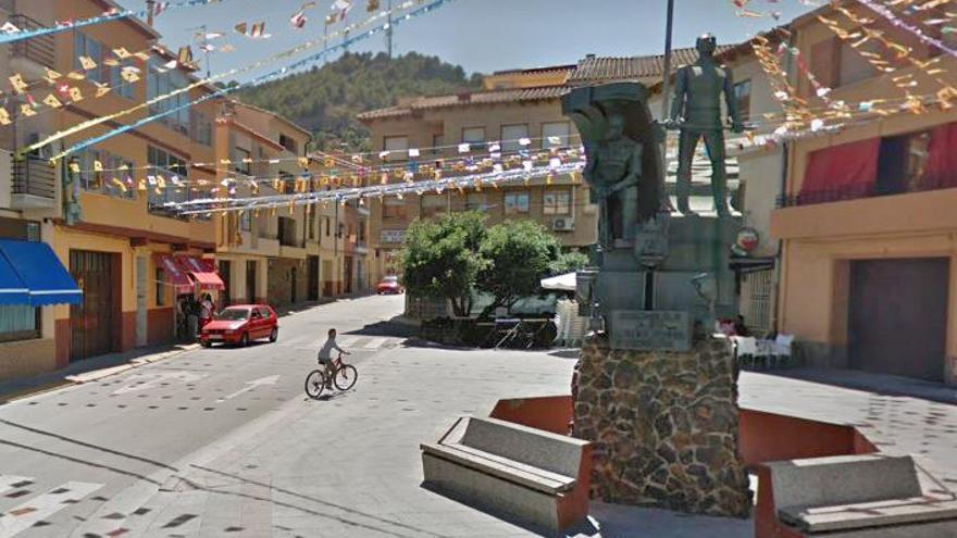 Monumento al labrador y al minero, en Andorra