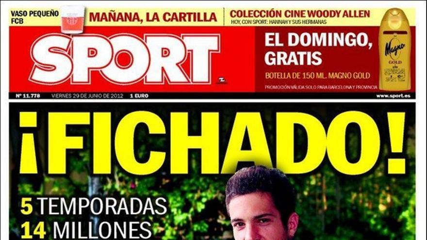 De las portadas del día (29/06/2012) #15