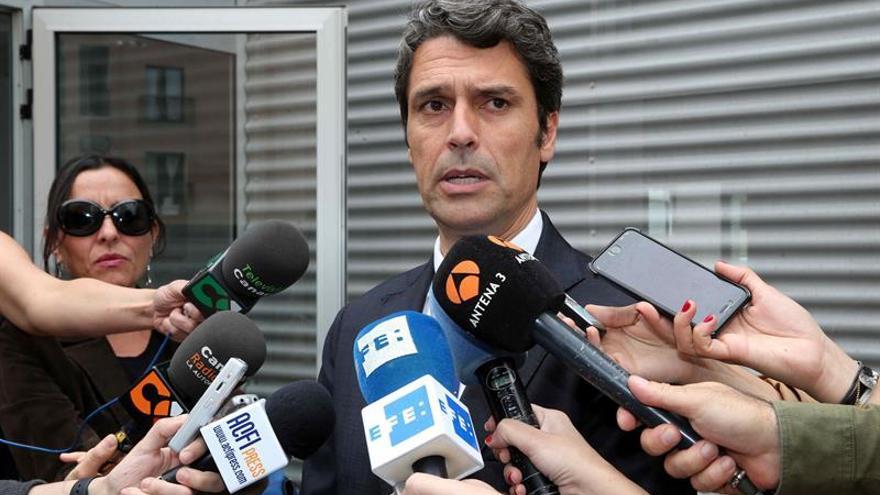 El delegado del Gobierno en Canarias, Enrique Hernández Bento.