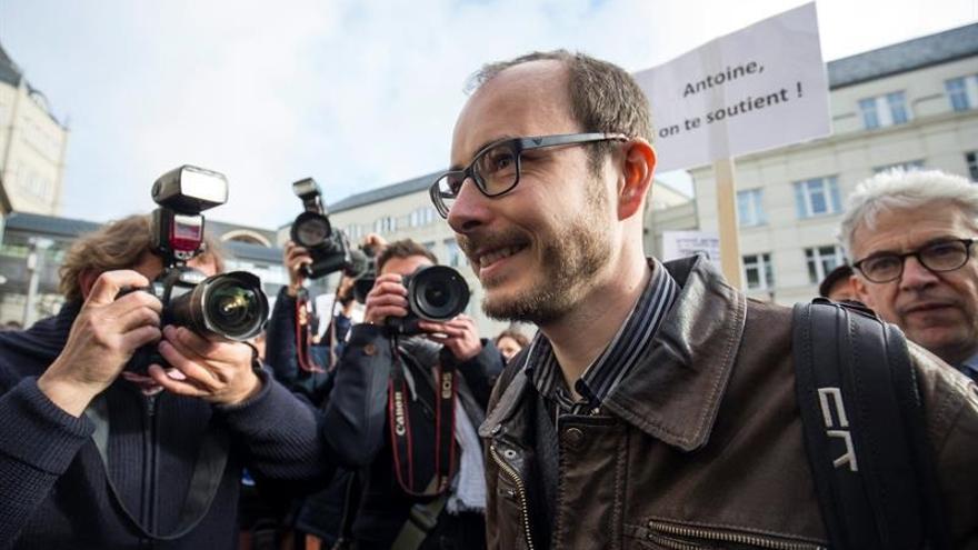 Antoine Deltour, el principal filtrador de LuxLeaks   EFE