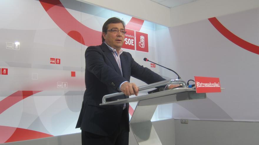 """Vara afirma que el PSOE siente """"afecto"""" por el PSC pero """"no"""" puede aceptar """"en ningún caso"""" el derecho a decidir"""
