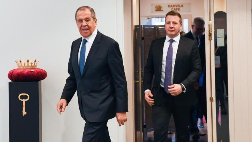 """Lavrov: la solución militar en Venezuela sería """"catastrófica e injustificada"""""""