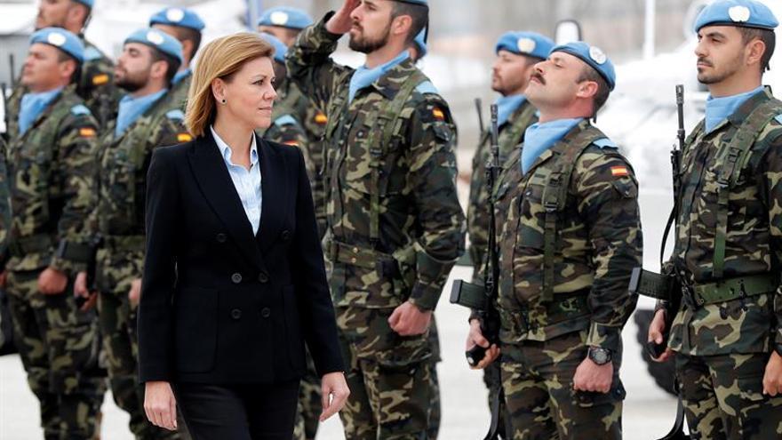 España a la cola en gasto militar, pero la OTAN alaba su implicación en las misiones