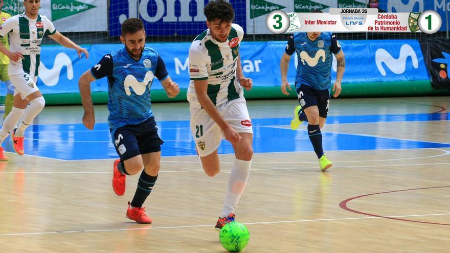 Zequi, en el duelo con el Movistar Inter.