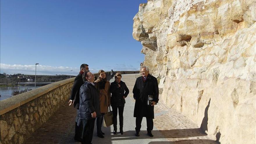 Restaurados cinco tramos de la muralla medieval de Zamora