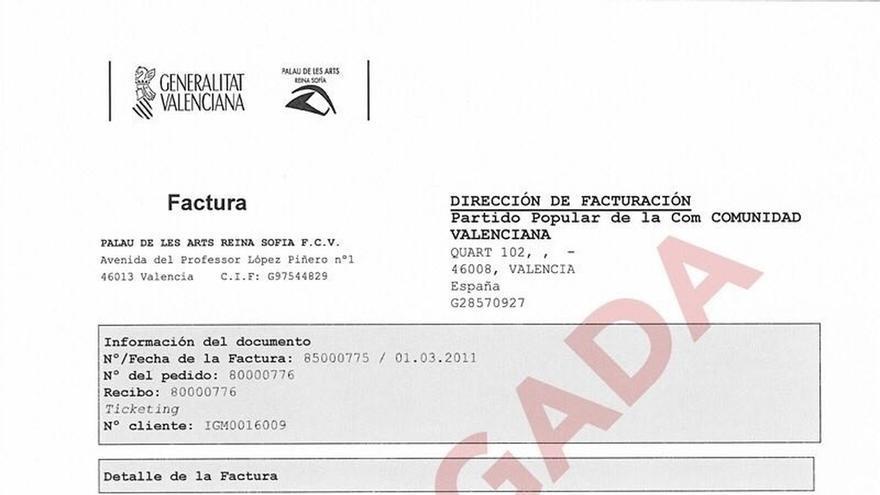 Compromís reclama al PP que pague también la deuda con el Palau de Les Arts por un mitin de 2011