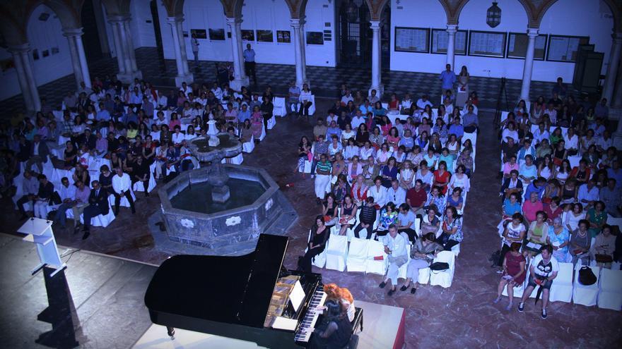 Uno de los conciertos del Festival Internacional de Piano 'Guadalquivir' 2014. Foto. FIP Guadalquivir