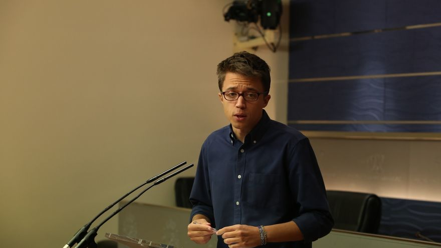 """Errejón acusa al PSOE de """"sobreactuar"""" y dice que """"es una conquista"""" que los estudiantes puedan protestar"""
