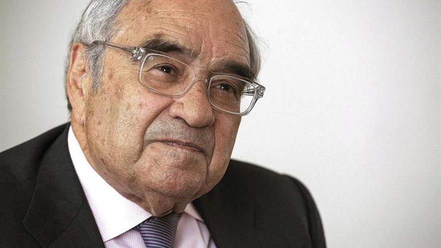 El exministro franquista Rodolfo Martín Villa.  