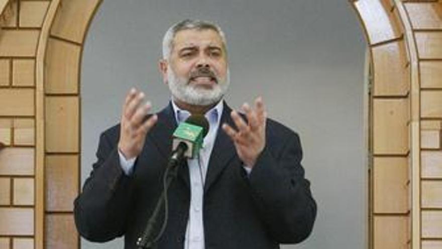 Haniyeh acusa a Israel de preparar un nuevo ataque contra Gaza