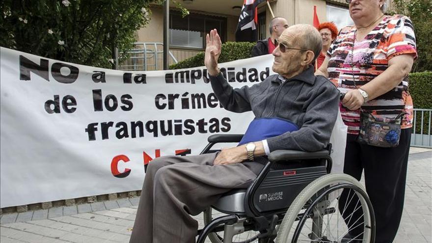 """Un preso de un campo de concentración franquista pide """"justicia y reparación moral"""""""