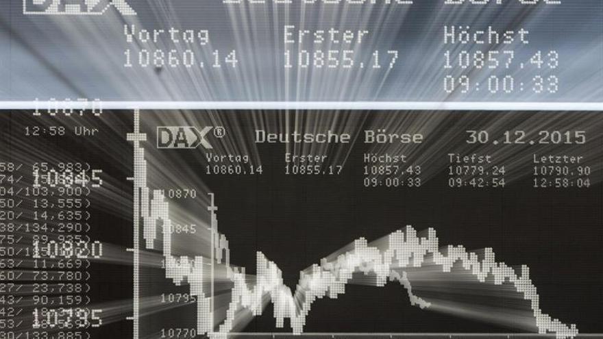 La Bolsa de Fráncfort abre sin variación porcentual