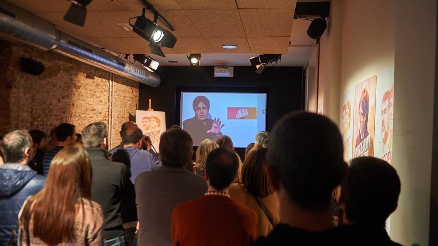 Puigdemont participará vía plasma en el debate electoral de TV3