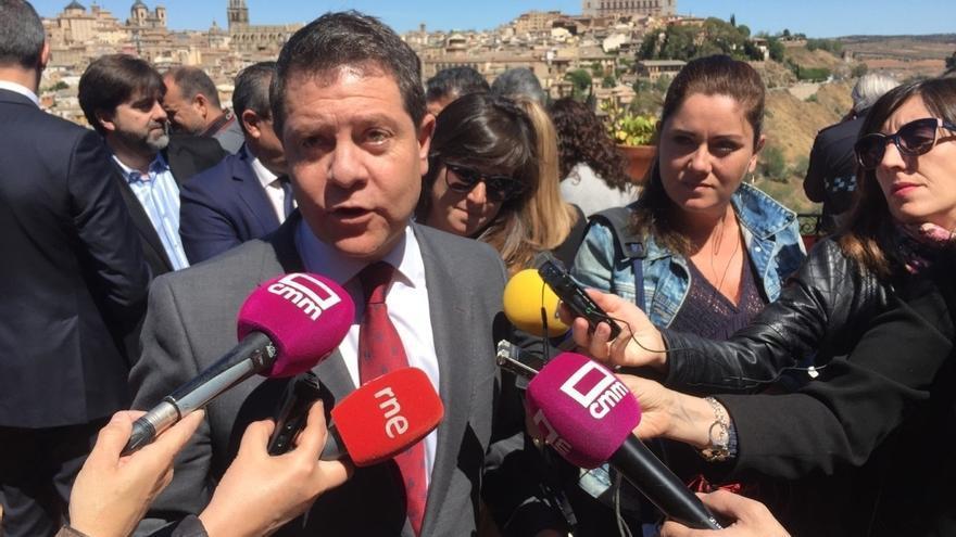 """Page, tras las palabras del presidente de Murcia, rechaza que """"algunos quieran blindar la miseria del Tajo"""""""