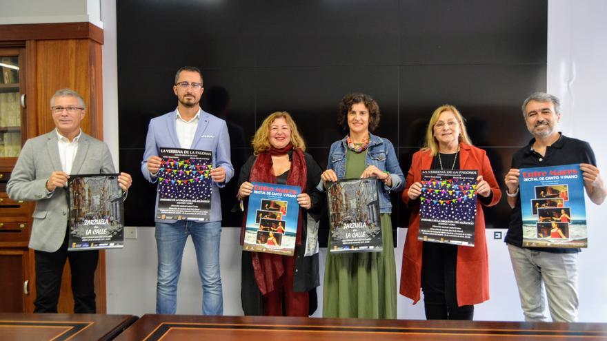 Presentación  en La Palma en la quinta edición del Festival de Música Española y Zarzuela.