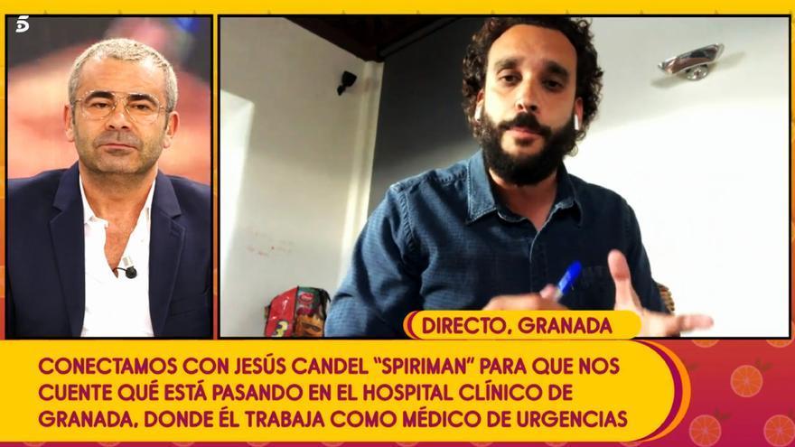 Jesús Candel, entrevistado por Jorge Javier Vázquez