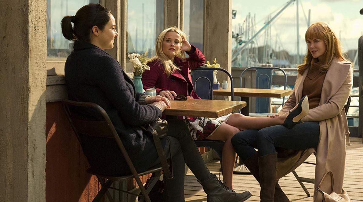 Shailene Woodley, Reese Witherspoon y Nicole Kidman como Jane, Madeline y Celeste en 'Big Litlle Lies'