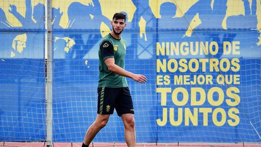 Rafa Mir, jugador de la UD Las Palmas.