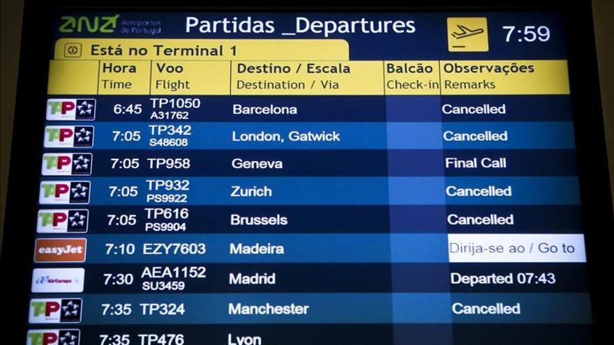 La huelga de pilotos de TAP obliga a cancelar 21 vuelos en sus primeras horas