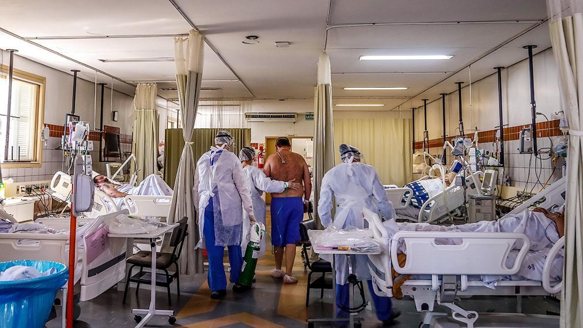 Río Grande do Sul se suma a la situación de colapso que se vive con la segunda ola de coronavirus en varias regiones de Brasil.