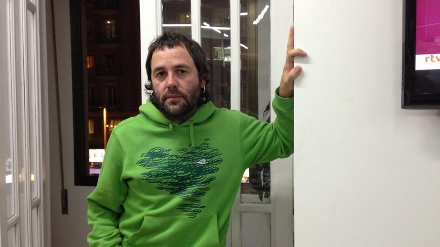 Gorka Ovejero, autor del tartazo a Yolanda Barcina para el que la Fiscalía pide cinco años de prisión / G.C.
