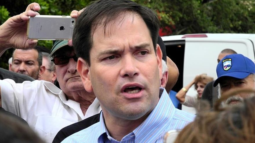 El senador Marco Rubio pide a Obama que haga algo por Fariñas