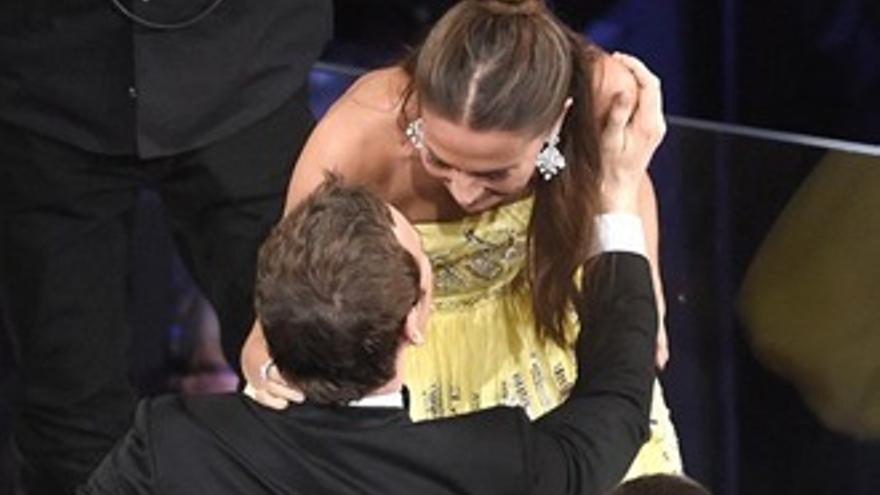 Las parejas sentimentales que acudieron de la mano a los Oscars 2016