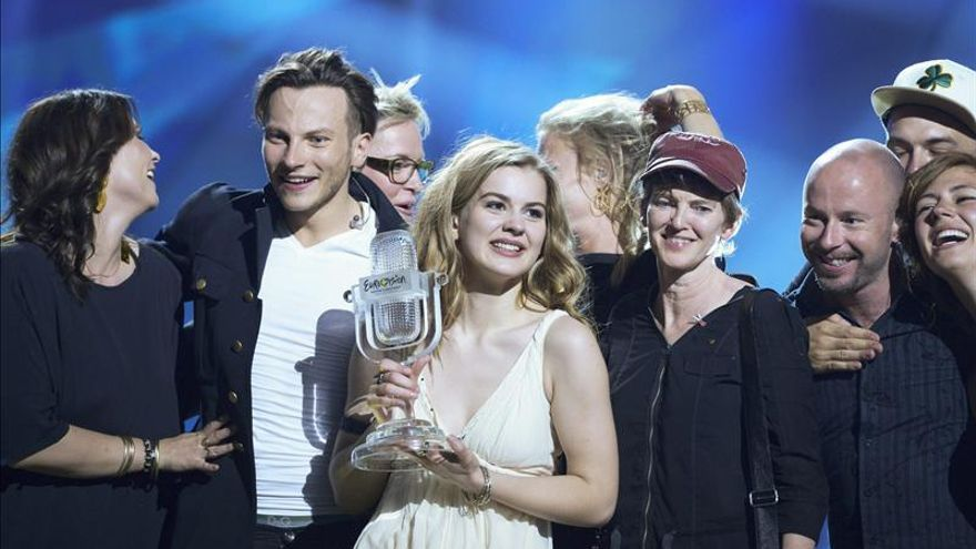 """Dinamarca, la versión folk y luminosa de """"Euphoria"""", vence en Eurovisión 2013"""