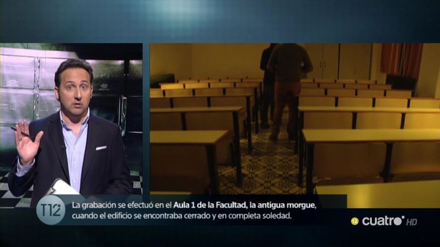 Cuarto Milenio, con las psicofonías en la Universidad de Córdoba