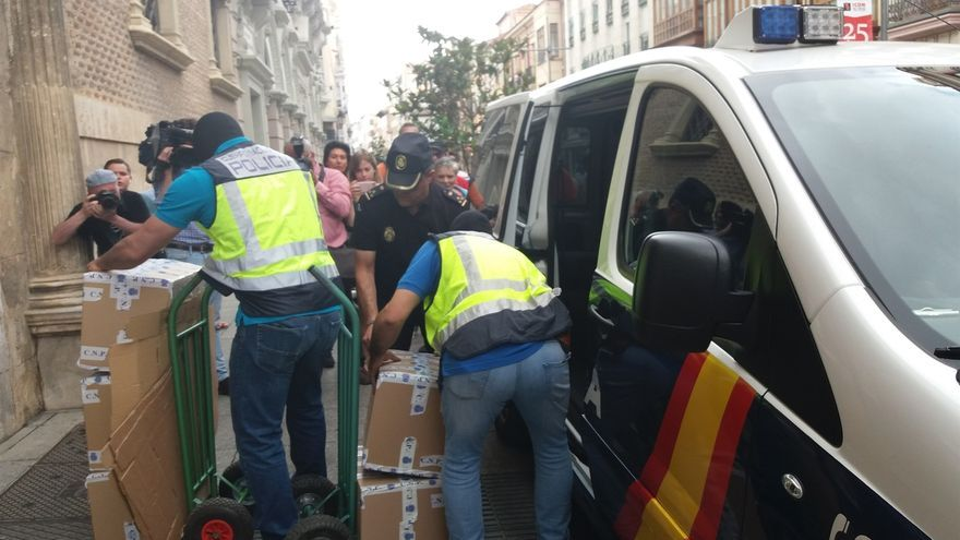 Detienen y registran el domicilio de un socio del empresario José Luis Ulibarri por la operación 'Enredadera'