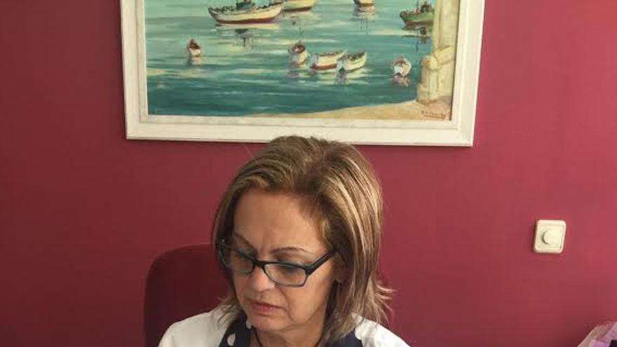 Mercedes Coello, gerente de Servicios Sanitarios del Área de Salud de La Palma.