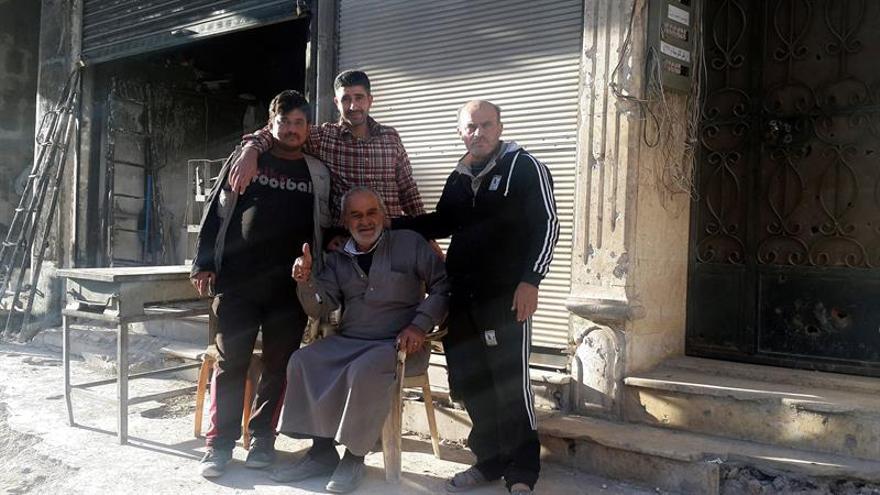 Las huellas de la guerra siguen en Alepo, un año tras la ofensiva de Al Asad