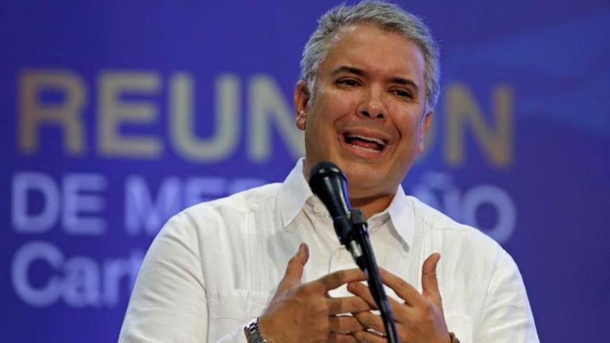 El presidente de Colombia dice que la lucha contra el narcotráfico es compartida