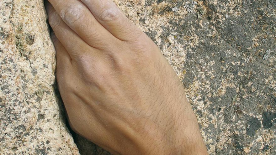fisioterapia, manos, escalada