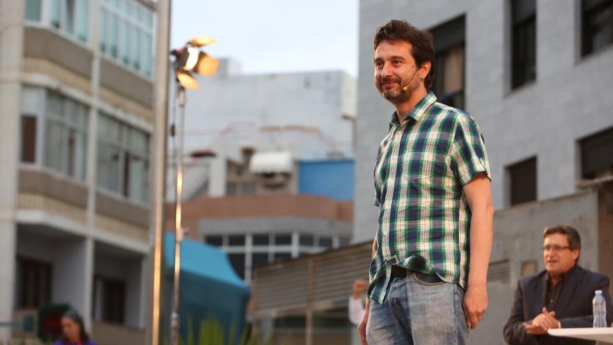 El secretario de Relación con la Sociedad Civil y Movimientos Sociales de Podemos, Rafael Mayoral