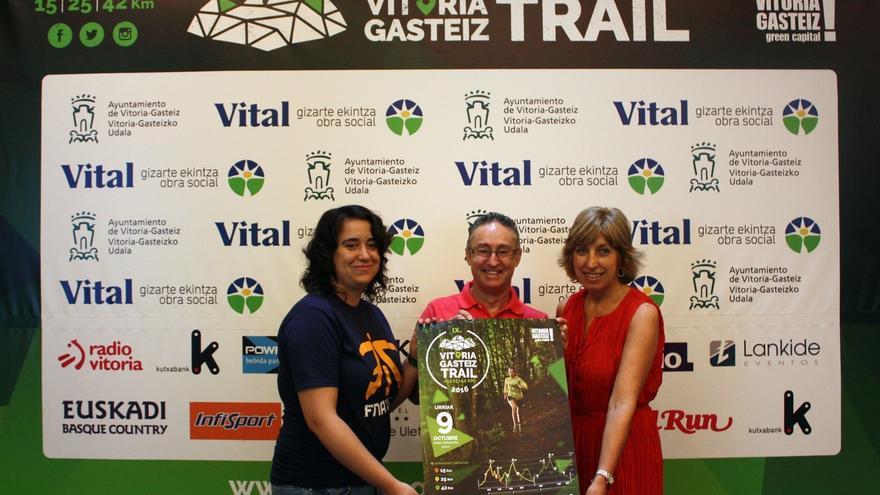 El bosque de Armentia y los montes de Vitoria acogerán el 9 de octubre la prueba deportiva 'Vitoria-Gasteiz Trail'