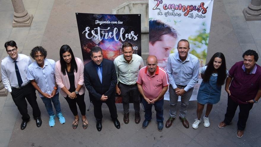 Presentación del Torneo Internacional de Ajedrez.