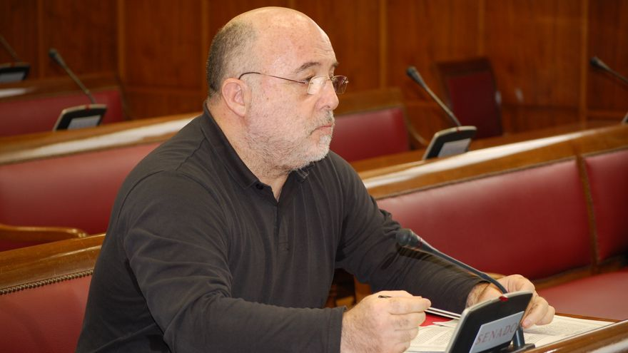 El senador socialista por Gran Canaria Arcadio Díaz Tejera