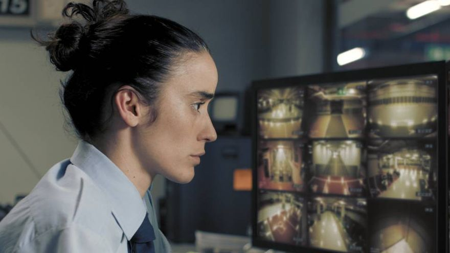 Fotograma 'Timecode', cortometraje nominado a los Oscar.